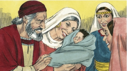 Zechariah and elizabeth baby
