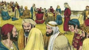 Jesus call the crowd