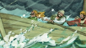 disciples tossed by storm