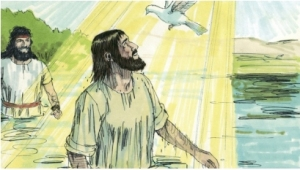 Jesus and the Dove