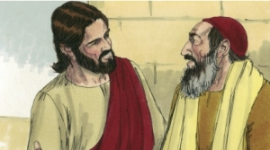 Jesus to the lawyer