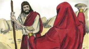 satan tempts Jesus