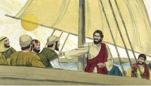 Jesus goes to Gerasenes