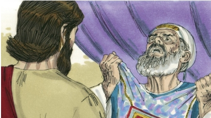 High Priest Tore His Robe Coloring Page