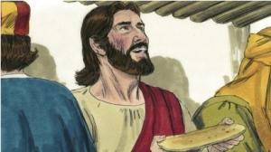 Jesus celebrates Passover