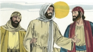 Jesus on Emmaus Road
