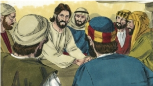 Jesus explains prophecies