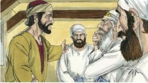 Judas and the Jewish leaders