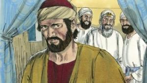 Judas betrays Jesus