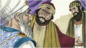 False witness lie about Jesus