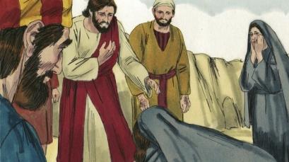 Image Result For Jesus Raises Lazarus