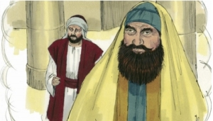 Pharisee in the temple