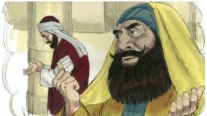 Pharisee prays