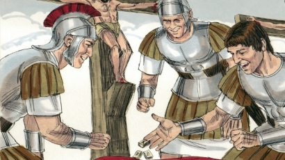 Image result for Roman Soldiers at Calvary