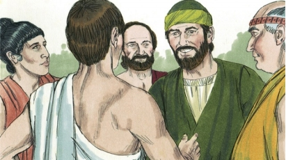 Paul and Silas go to Philippi