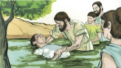 Paul baptises jailer and family