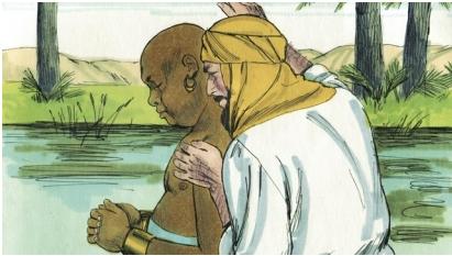 Philip baptises Ethiopian