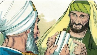 Saul imprisons Christians