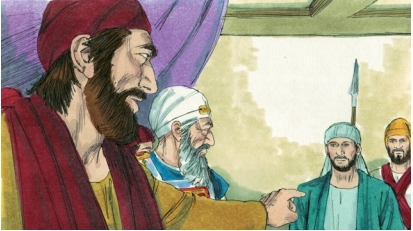 Stephen rebukes the religious leaders