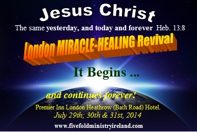 Miracle Healing Revival poster