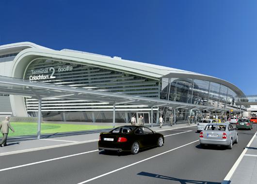 Dublin Airport, terminal 2.