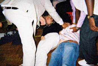 Slain- AFTER Paul prayed.