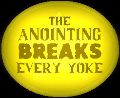 anointing breaks every yoke