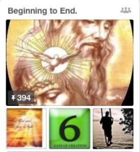 Pictorial biblical milestones
